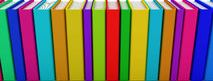 http://www.dreamstime.com/royalty-free-stock-photo-row-colorful-books-image12942475